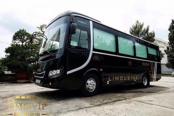 thuê xe limousine 17 chỗ