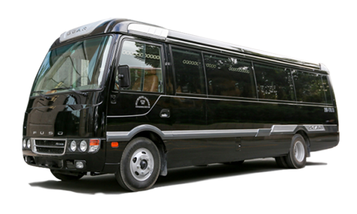 cho thue xe limousine 12 cho Fuso - Hang xe limovip